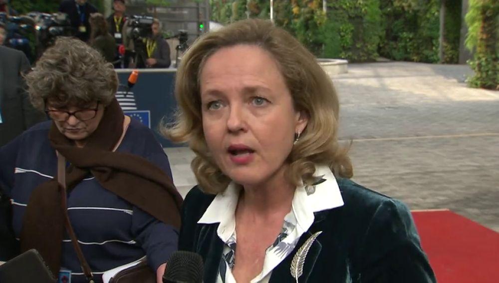 Nadia Calviño abre la puerta a una prórroga de los Presupuestos del PP si no logran los apoyos necesarios