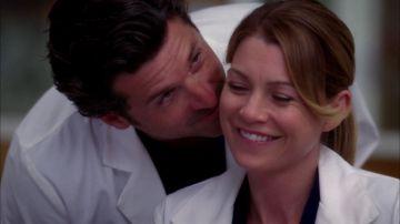 Derek y Meredith en 'Anatomía de Grey'