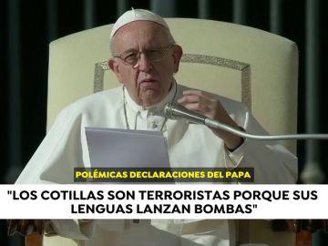 El Papa Francisco declara que cotillear es una forma de terrorismo
