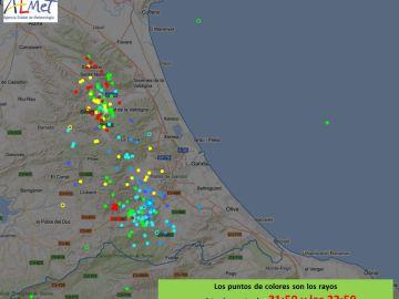 Focos de tormenta sobre Valencia