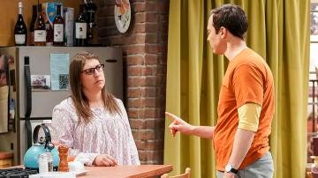 Amy y Sheldon