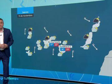 Precipitaciones localmente fuertes o persistentes en el área mediterránea