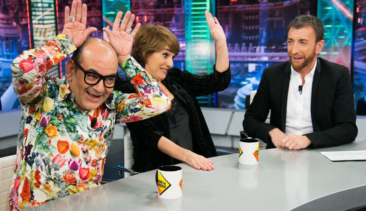 La magia de 'TCMS' se cuela en El Hormiguero con Anabel Alonso y José Corbacho