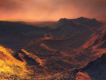 Así se vería el nuevo planeta