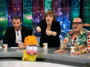 VÍDEO: ¿Es Anabel Alonso la ganadora indiscutible de 'Te pongo la cara del revés' en 'El Hormiguero 3.0'?