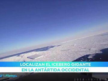Localizan un iceberg gigante equivalente a 18.500 campos de fútbol