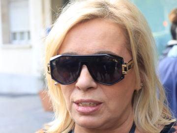 La cara de preocupación de Carmen Borrego