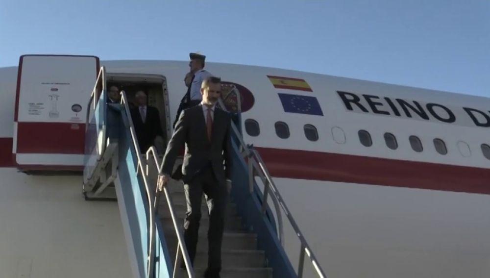 Felipe VI y Pedro Sánchez aterrizan en Guatemala para acudir a la Cumbre Iberoamericana