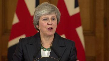 """May rechaza un segundo referéndum sobre el 'brexit' y descarta dimitir: """"Yo voy a dirigir este proceso"""""""