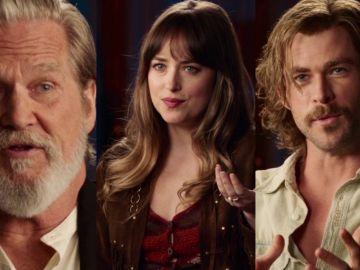 Los protagonistas de 'Malos tiempos en El Royale'