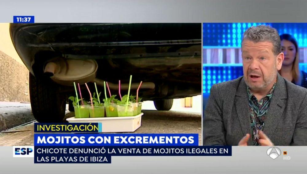 Mojitos con restos fecales en Barcelona.