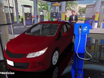 El Gobierno quiere que las estaciones de servicio tengan un punto de recarga para los coches eléctricos