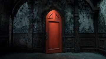 La habitación roja de 'La maldición de Hill House'