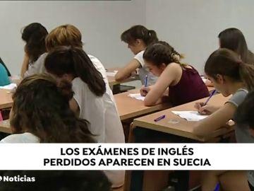 Se recuperan en Suecia los exámenes oficiales de inglés perdidos