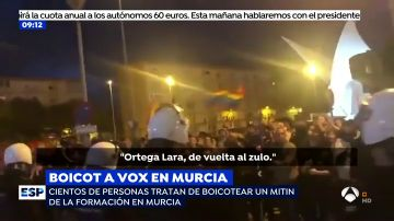 Insultos a Ortega Lara.