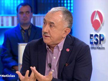 """Pepe Álvarez le pide al gobierno que se deje de """"titulares"""" refiriéndose al anuncio del fin del diésel"""