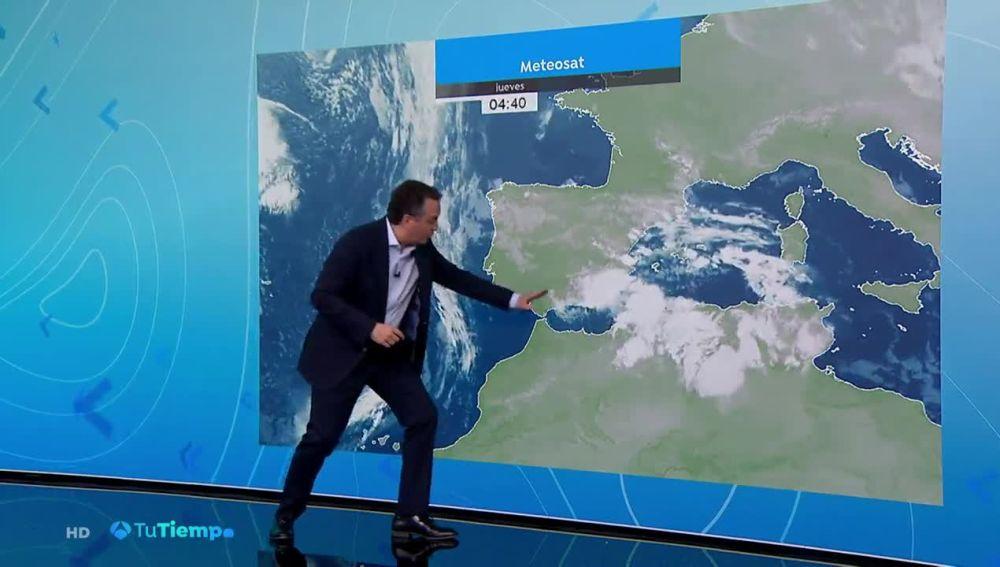Temperaturas en descenso en Baleares, Canarias y Estrecho