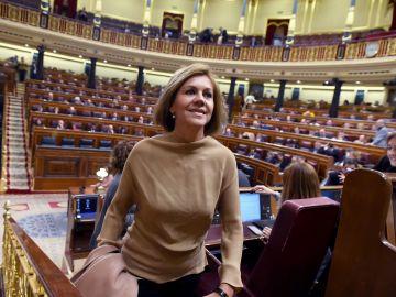 La ex secretaria general del PP María Dolores de Cospedal