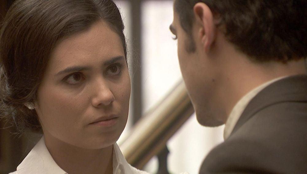 """Matías se enfrenta a María: """"Dime la verdad"""""""