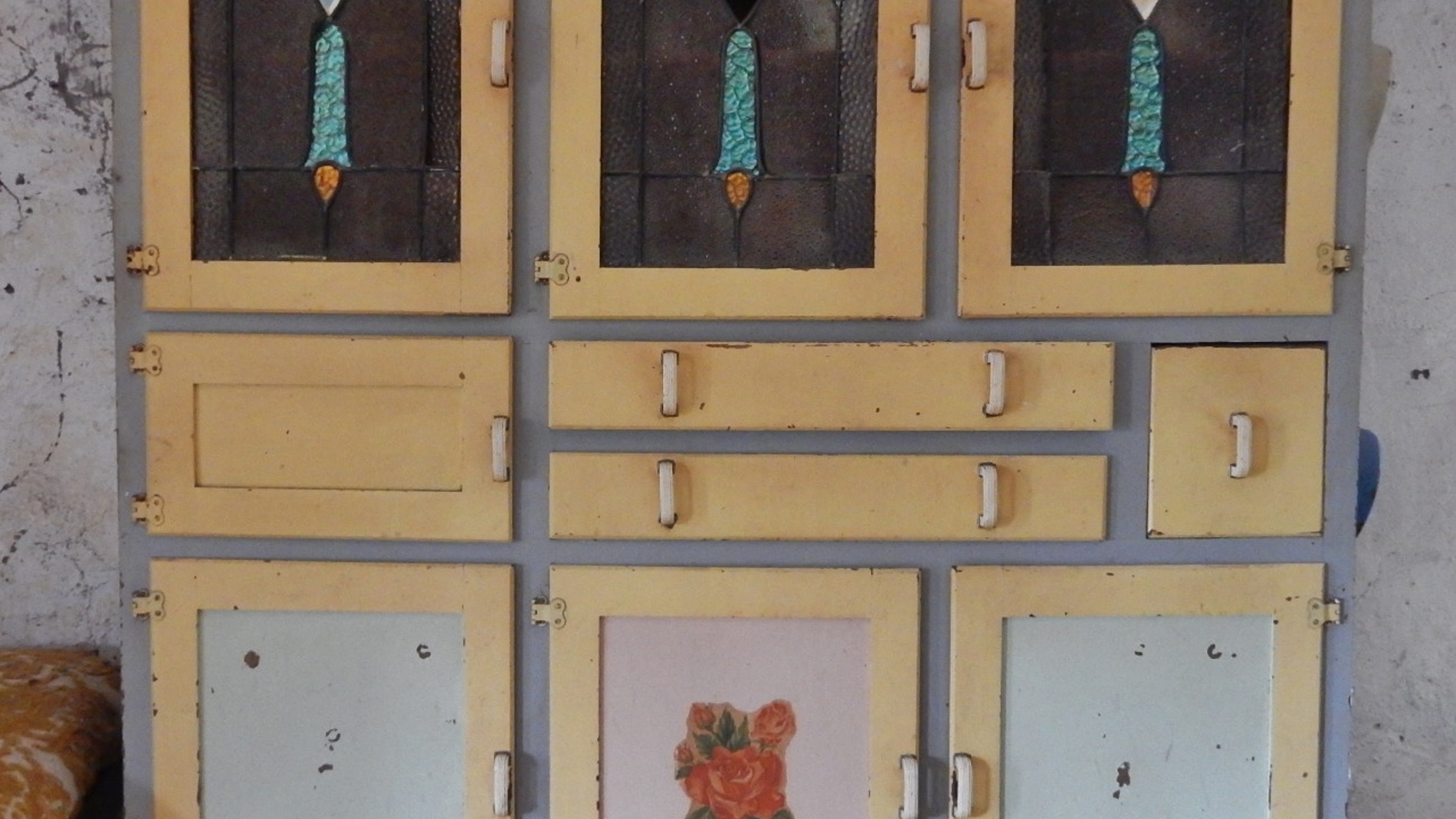 Foto de archivo de un armario