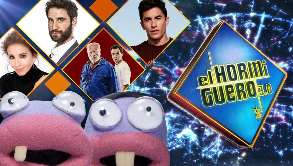La próxima semana se divertirán en 'El Hormiguero 3.0' Ana Belén, Dani Rovira, Juan Echanove, Ricardo Gómez y Marc Márquez