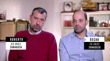 Roberto y Óscar, llevan diez años juntos