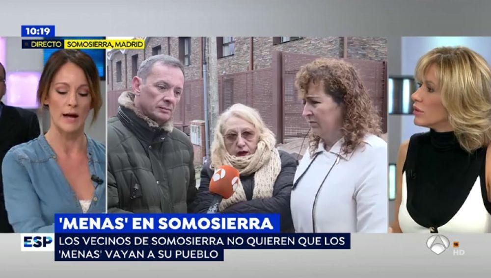 """Los vecinos de Somosierra se niegan a convivir con los 'menas': """"No me importa que traigan personas que realmente se puedan integrar, pero ellos no lo harán"""""""