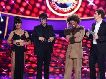 Los concursantes de 'Tu cara me suena' eligen a Mimi como ganadora de la octava gala