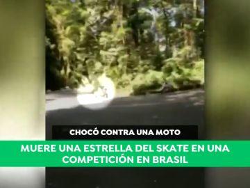 Duras imágenes: conmoción en Brasil tras la muerte de Allysson Pastrana al chocar de frente con una moto