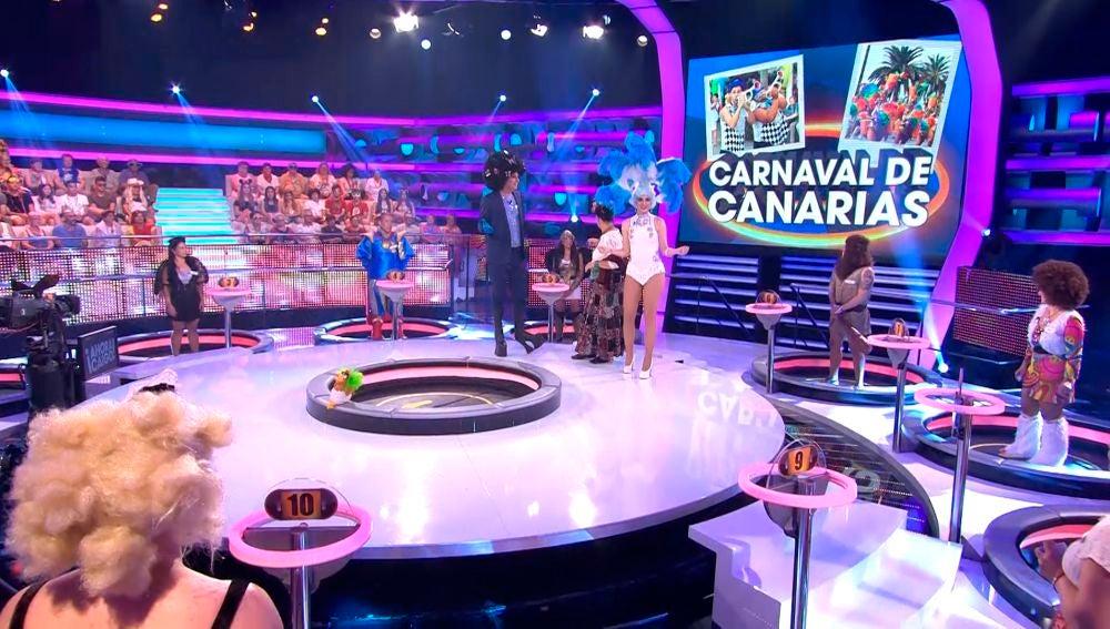 Ahora Caigo carnaval de Canarias