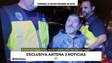 EXCLUSIVA: El 'Rey del cachopo' asegura que es inocente ante una cámara de Antena 3 Noticias