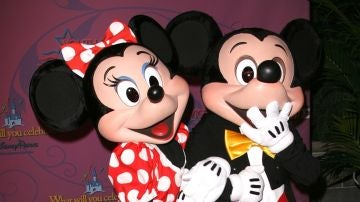 Micky y Minnie Mouse