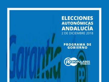 Programa electoral PP Andalucía 2018