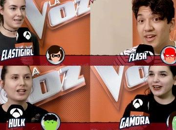¿Qué superhéroe serían Paulina Rubio, Luis Fonsi, Pablo López y Antonio Orozco? El público de las audiciones a ciegas hace sus apuestas
