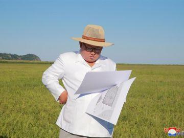 Kim Jong Un supervisa su nueva arma