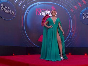 Los mejores vestidos de la alfombra roja de los Latin Grammys