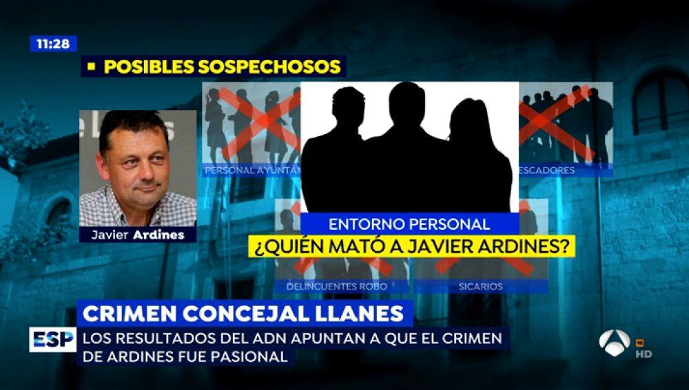 Nueva línea de investigación en el crimen de Ardines.