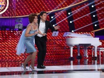 La mímica de Anabel Alonso desata la competición más dura del jurado
