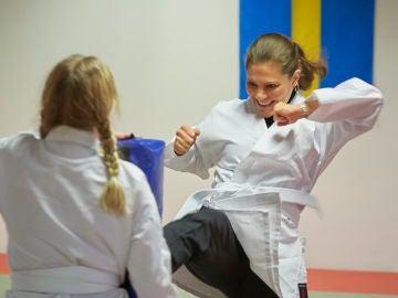 Victoria de Suecia, una princesa karateca