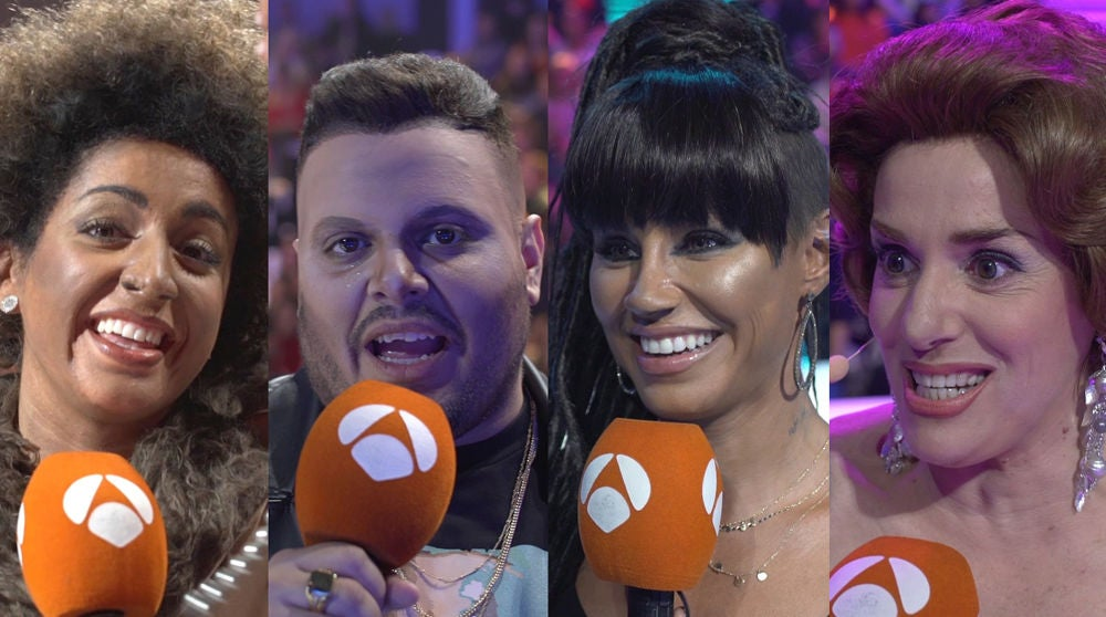 Las primeras impresiones de Mimi, Soraya Arnelas, Brays Efe y Anabel Alonso tras actuar en la octava gala