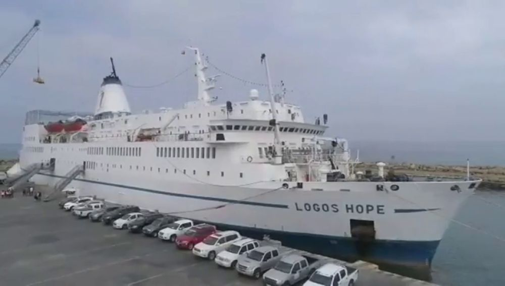 El 'Logos Hope', la librería flotante más grande del mundo, abre al público en Ecuador