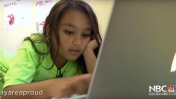 La niña de diez años que quieren en Silicon Valley