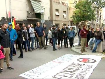 Tensión entre independentistas y simpatizantes de Vox en Tarragona