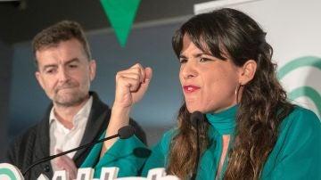 Teresa Rodríguez, candidata de Adelante Andalucía