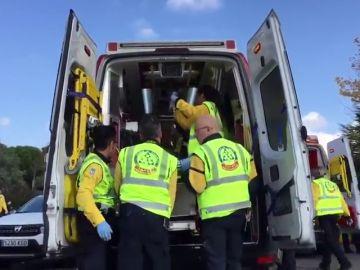 Una conductora atropella a un ciclista y logra reanimarle tras entrar en parada cardiorrespiratoria