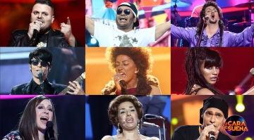 ¡Vota por la mejor actuación de la octava gala de 'Tu cara me suena'!