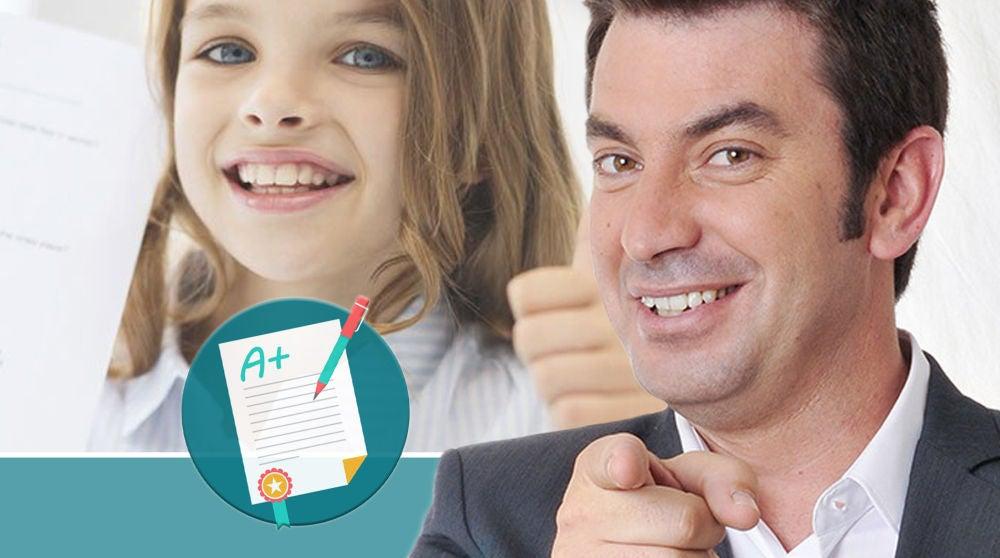 La desternillante respuesta de un niño sobre '¡Ahora Caigo!' en un examen que consigue la matrícula de honor de Arturo Valls