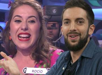 'David Broncano' tira por la trampilla a una concursante en el especial 'El Rocío' de '¡Ahora Caigo!'