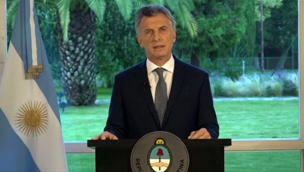 Macri declara tres días de duelo nacional tras el hallazgo del submarino ARA San Juan