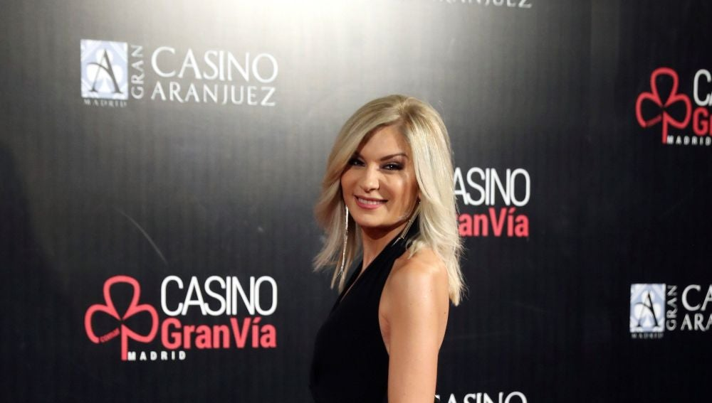 La presentadora de Antena 3 Noticias Sandra Golpe